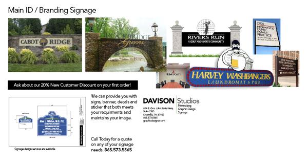 Signage Brochure